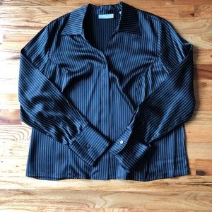 Kate Hill striped blouse
